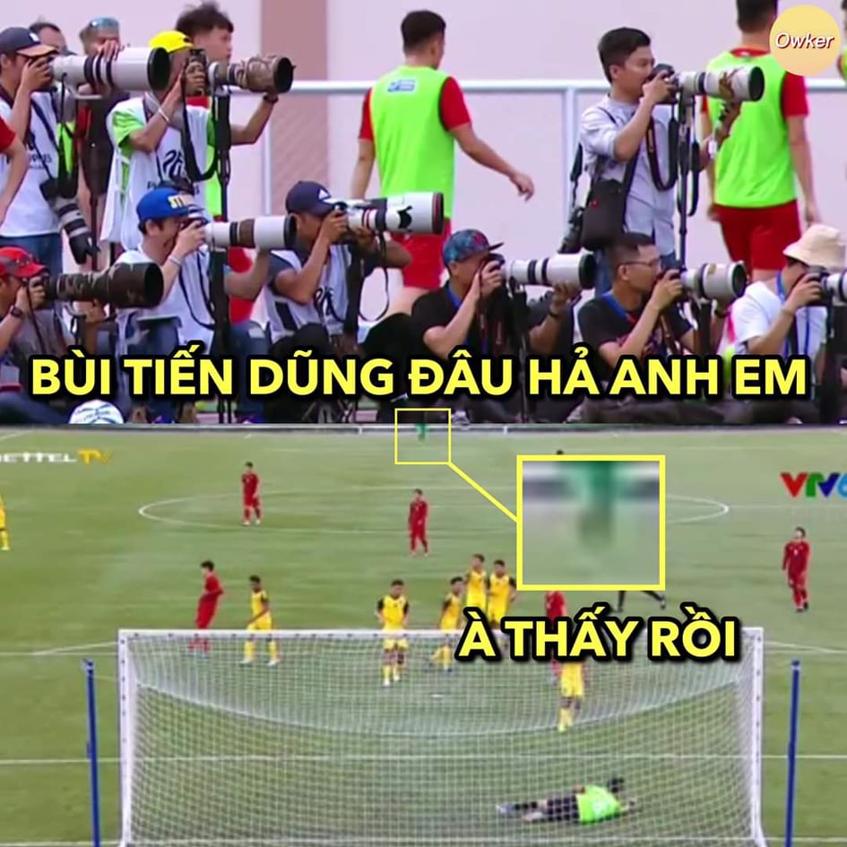 """anh che """"cuoi vo bung"""" ve u22 viet nam thang u22 brunei 6-0 hinh anh 10"""