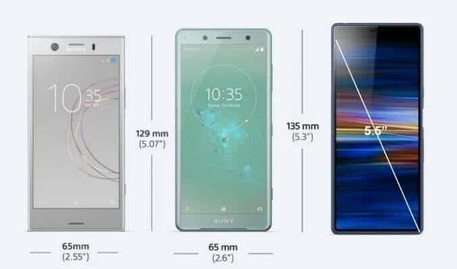 sony xperia compact sap tro lai, chip snapdragon 665, man hinh 5,5 inch hinh anh 1