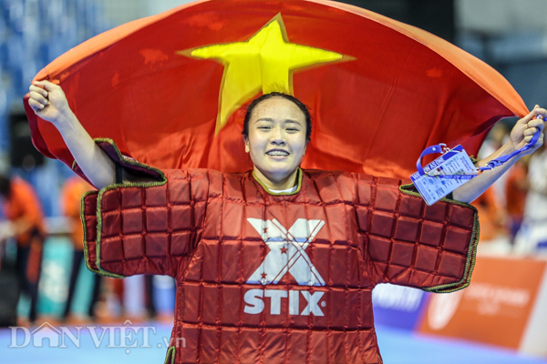 """chum anh: viet nam lap """"hat-trick vang"""" o mon quoc vo philippines hinh anh 7"""