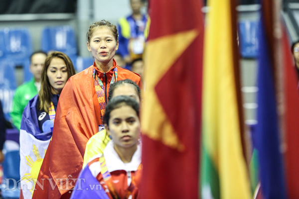 """chum anh: viet nam lap """"hat-trick vang"""" o mon quoc vo philippines hinh anh 8"""