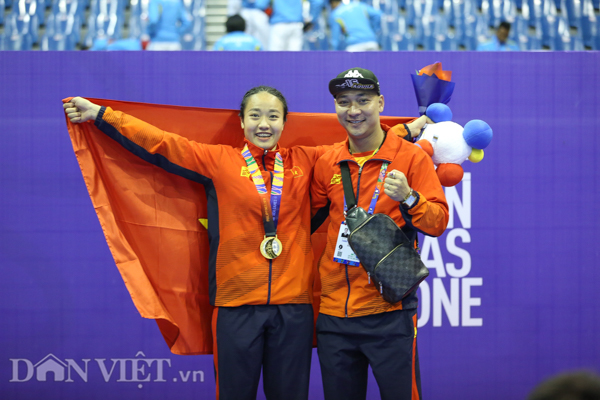 """chum anh: viet nam lap """"hat-trick vang"""" o mon quoc vo philippines hinh anh 12"""