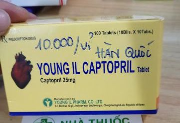 dinh chi luu hanh lo thuoc young ii captopril tablet khong dat chat luong hinh anh 1