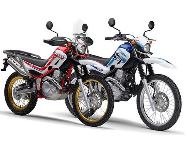 "yamaha ra mat bo doi ""cao cao"" 2020 serow 250 va cello 250 final edition hinh anh 1"