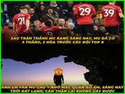 MU ha dep Man City, fan keo nhau ra khoi hang  & quot;gay vang & quot;