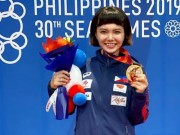 The thao - Chuyen la SEA Games 30: doat HCV, VdV Philippines oan han HLV