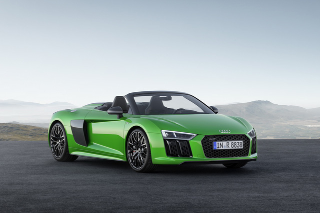 audi r8 v10 plus spyder 2017 lo dien voi gia 5,3 ty dong hinh anh 1