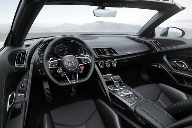 audi r8 v10 plus spyder 2017 lo dien voi gia 5,3 ty dong hinh anh 3