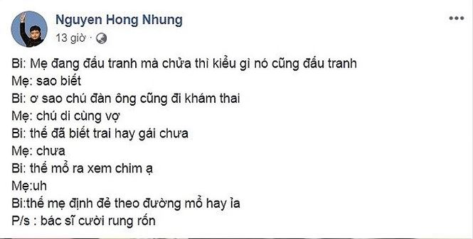lo anh vong 2 to bat thuong, vo xuan bac sap sinh em be thu ba? hinh anh 1