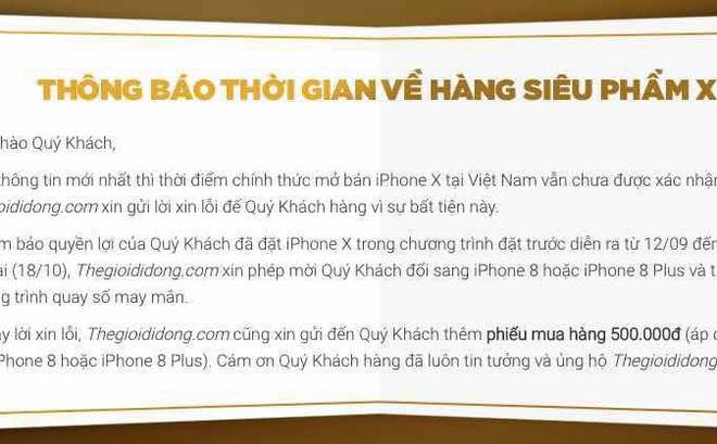 vi sao the gioi di dong tra lai dat coc mua iphone x? hinh anh 6